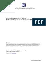 Manual Bet Fi