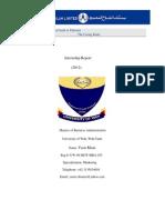 Intern ship Report of Bank Alfalah Pakistan on Marketing ( MBA )