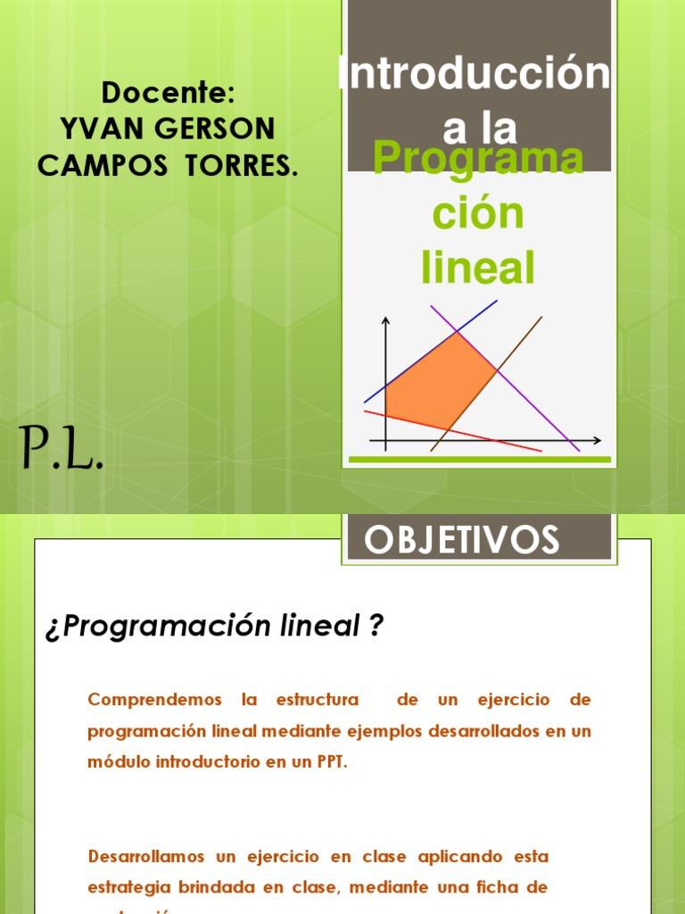 Programacion Lineal 2 Pptx