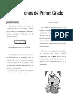 ALG - Guía 3 - Inecuaciones de Primer Gr