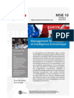 Management Strategiqueet Intelligence Economique