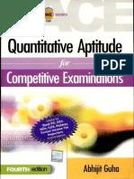 Quantative Aptitude for Competitive Exam