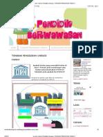 Isu Dan Cabaran Pendidikan Semasa_ Tonggak Pendidikan Unesco