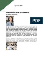 RD-CAFTA, Modificaciones y sus Oportunidades, Vigilante Informativo, August 2008
