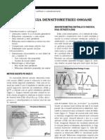 METODOLOGIA DENSITOMETRIEI OSOASE
