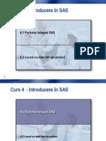 Curs 4 - Pachetul Integrat SAS