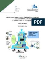 JICA eGovernment Final Report - Kamiya