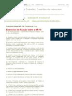 Segurança do Trabalho_ Questões de concursos públicos_ Questões sobre NR - 18_ Construção Civil