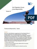 13-Pmp Professional Responsibility Pmbok v4