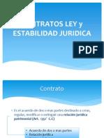 Contratos Ley y Estabilidad Juridica