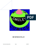 Sample Bplan - Smiley Comics