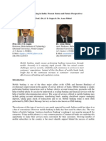 Mobile Banking in India Final