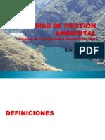 CLASE SISTEMAS DE GESTIÓN AMBIENTAL