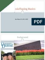 DATA 2011 Kinesio Taping Basics