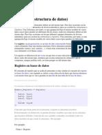Registros en C++