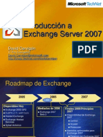 Introduccion a Exchange Server 2007