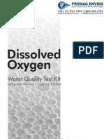 LaMotte 5860 Dissolved Oxygen Liquid Acid Version Kit Instructions