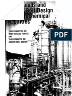 Wind Loads & Anchor Bolt Design for Petrochemical Facilities
