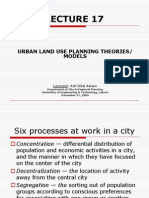 Lect 17_Urban Land Use Planning Theories Introduction to Town Planning
