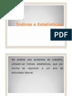 Índices e Estatísticasx