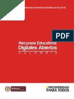 Libro Sobre Uso de TICs - Colombia Aprende 2013