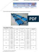 Heavy Weight Drill Pipe Standard Integral_Welded Heavy Weight Drill Pipes