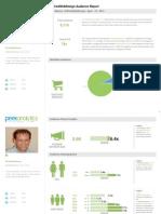 David Chamberlains PeekAnalytics Social Audience Reports