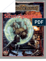 Tsr 9485 Forgotten Realms the Secret of Spiderhaunt