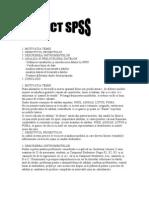 Proiect SPSS - Analiza Datelor