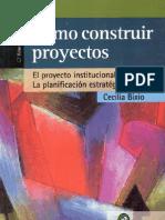 132762421 Como Construir Proyectos