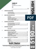 Kinetec 5190-S2 User Manual