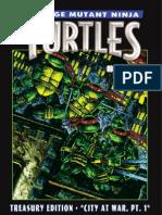 Teenage Mutant Ninja Turtles #50 Treasury Edition Preview