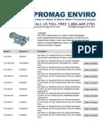 A and F v-10 Duplex Pump Models