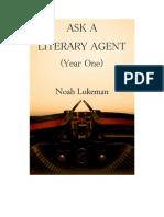 Ask a Literary Agent Year One - Noah Lukeman