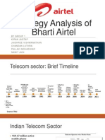 Strategy Analysis of Airtel