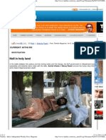 Death of Nigamananda