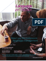 Speech & Language Therapy in Practice, Summer 2011