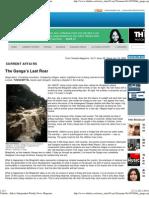 2011_the Stifled Ganga