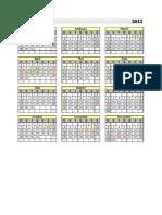 calendário permanente