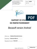 Rapport Stage de Perfectionnement