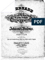 Brahms, Johannes Serenade No.1 in D Maj Op. 11 (a)