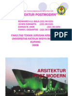 Arch Postmodern Presentasi