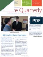 BCCPA Newsletter Winter-Spring 2013