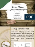 Neraca Massa PFR