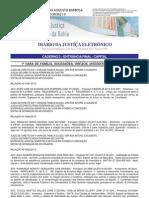 Diário Oficial da Justiça Bahia_19 de abril de 2013