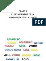 Clase 2 Fundamentos
