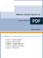 Module 1-3- VirtualCenter 4.0