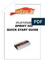 Haltech Platinum Sprint 500 Manual