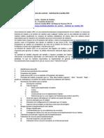 Lista de Control - Solicitud de Cambio RFC