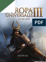 EUIII SPANISH DivineWind Manual